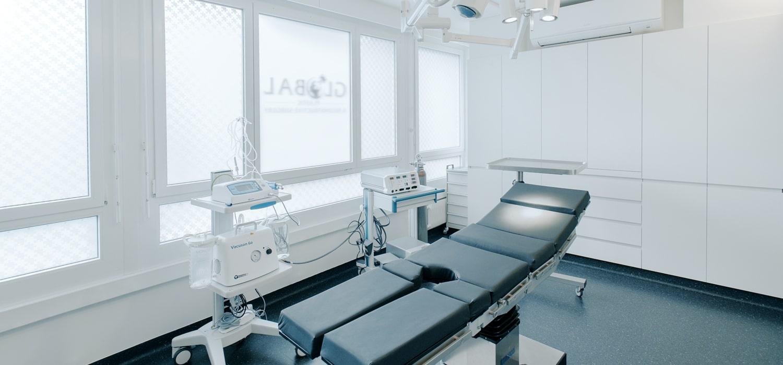 La clinique à Lausanne